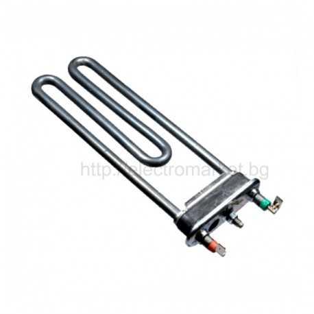 Нагревател за пералня Indesit, Ariston 1800W с отвор и термопредпазител