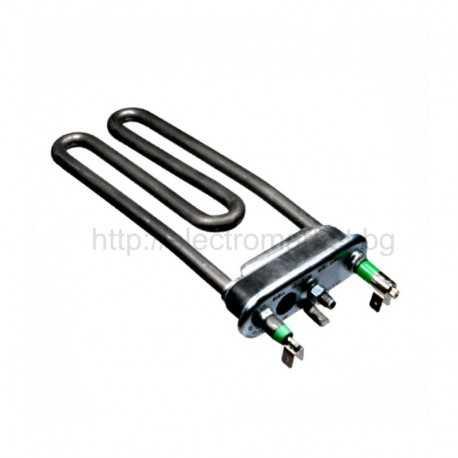 Нагревател за пералня 1700W Ariston Merloni - Indesit, отвор и термопредпазител