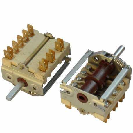 Ключ за фурна керамичен, позиции 5+0
