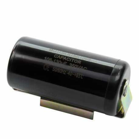 Кондензатор пусков 108 - 130 µF / 350V