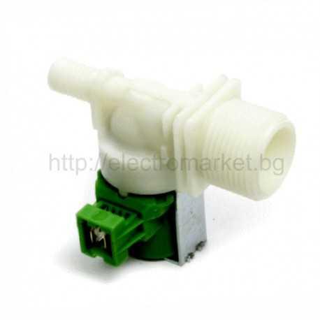 Магнет вентил за пералня ZANUSSI - единичен хоризонтален