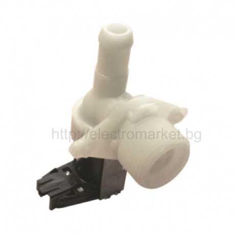 Магнет вентил за пералня PHILIPS - WHIRLPOOL - единичен вертикален