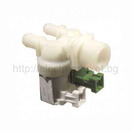 Магнет вентил за пералня двоен ZANUSSI - ELECTROLUX, с куплунг