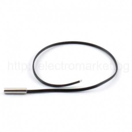 NTC Датчик 10КΩ - метален корпус | NTC термистор 10КΩ | температурен сензор NTC 10КΩ