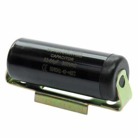 Кондензатор пусков за компресор 53-64µF / 350V