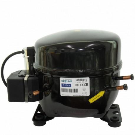 Компресор за хладилна витрина MQ-GQR90TG, хладилен агент R134a, среднотемпературен